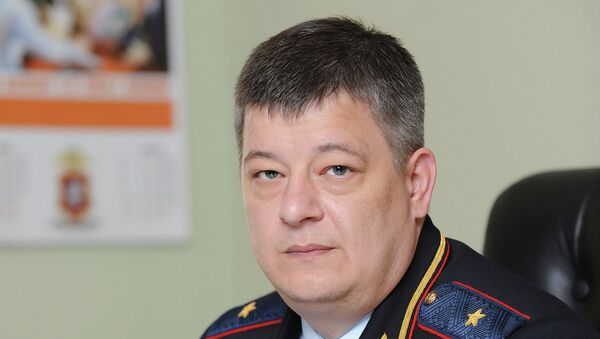Генерал-майор полиции Олег Баранов. Архивное фото