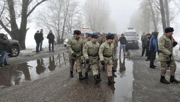 Пассажирский самолет разбился в Казахстане близ Алма-Аты