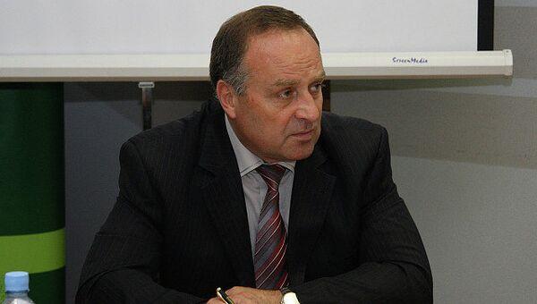 Министр экономического развития Карелии Валентин Чмиль