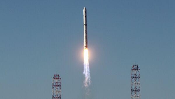 Запуск ракеты-носителя Зенит. Архив