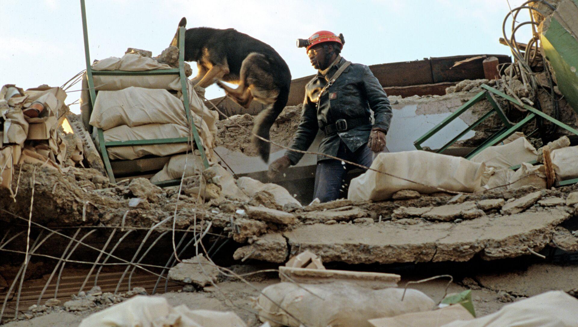 Последствия землетрясения в Ленинакане, Армения - РИА Новости, 1920, 16.04.2013