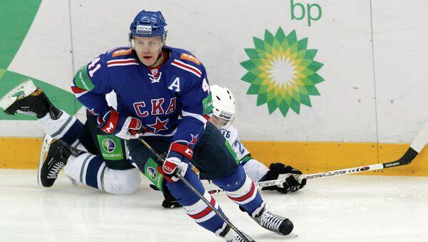 Игрок хоккейного клуба СКА Патрик Торесен. Архивное фото