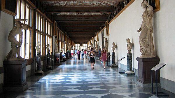Флорентийская картинная галерея Уффици