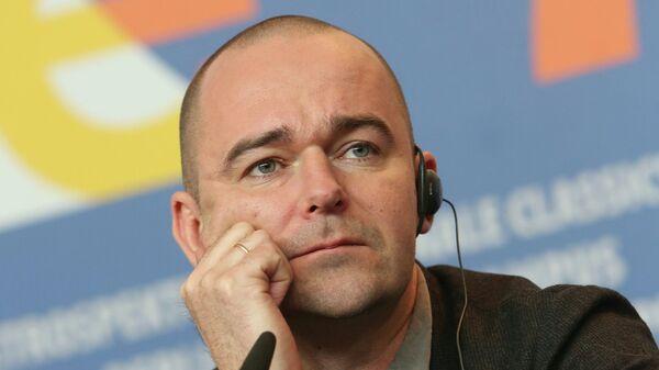 Борис Хлебников на пресс-конференции в рамках Берлинале-2013