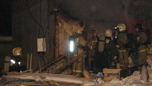 Взрыв на стройке в Сыктывкаре
