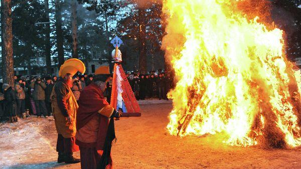 В Забайкалье начались обряды встречи буддийского Нового года