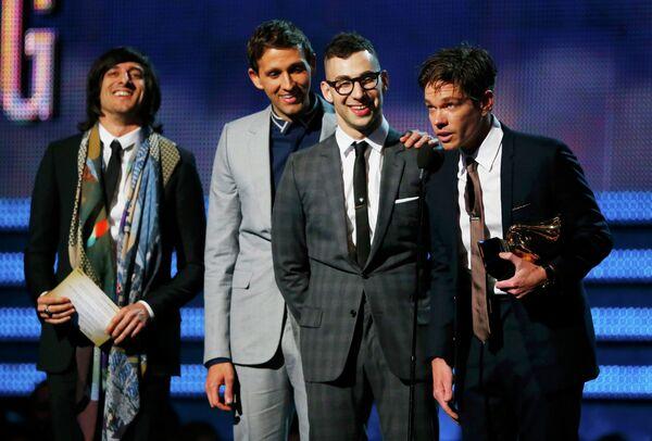 Композиция We Are Young группы Fun названа песней года на церемонии Грэмми