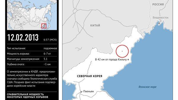 Ядерное испытание в КНДР