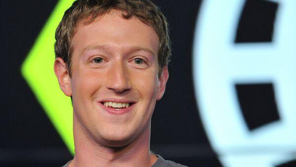 Марк Цукерберг, архивное фото