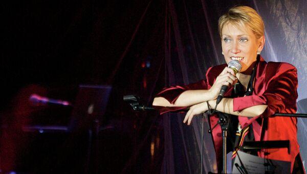 Певица Ирина Богушевская. Архив