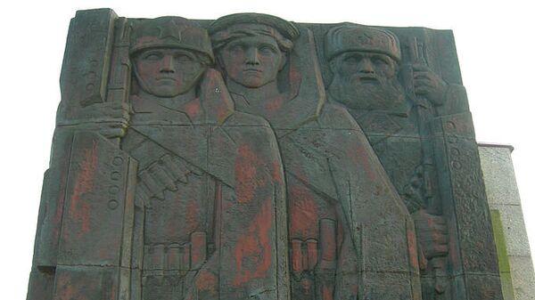 Мемориал «Невский пятачок», входящий в Зелёный пояс Славы - комплекс мемориальных сооружений на рубежах битвы за Ленинград в 1941—1944 годах