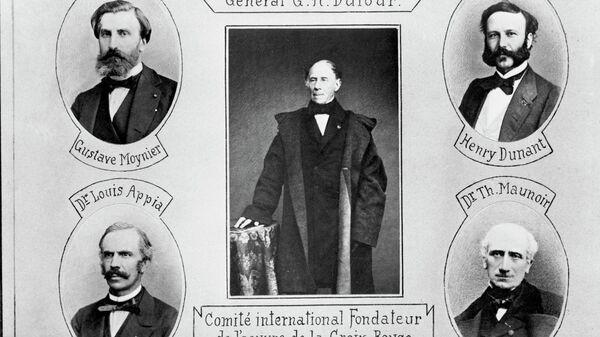 Пятеро основателей Международного Комитета Красного Креста (МККК)