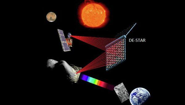Схема работы и сфера применения орбитальной платформы DE-STAR