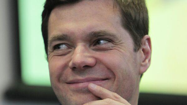 Генеральный директор ОАО Северсталь Алексей Мордашов. Архивное фото