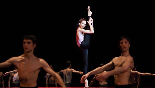 Балерина Диана Вишнева в Оперном театре Лозанны