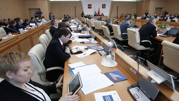Заседание Коллегии Минрегиона РФ. Архивное фото