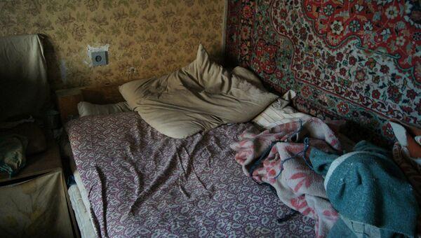 Квартира ветерана Загита Махметова, архивное фото