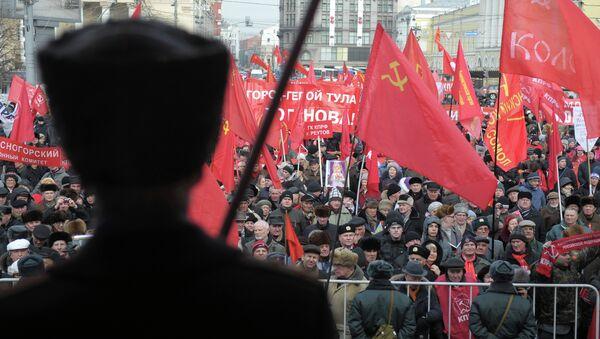 Шестие и митинг КПРФ
