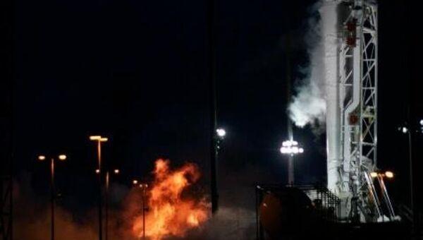 Огневые испытания ракеты Антарес