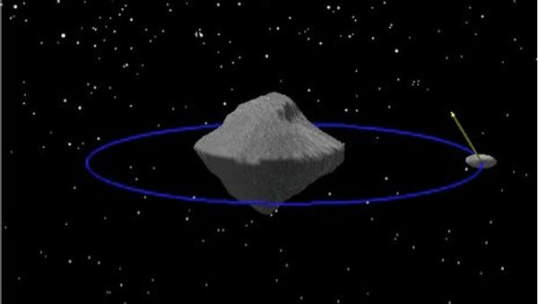 Астероид Дидим и его луна