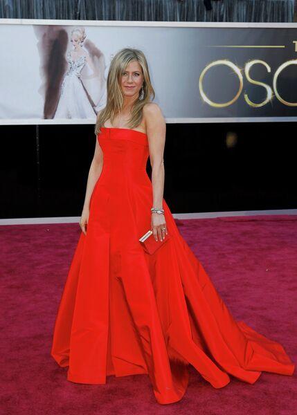 Дженнифер Энистон на 85-й церемонии вручения премии Оскар