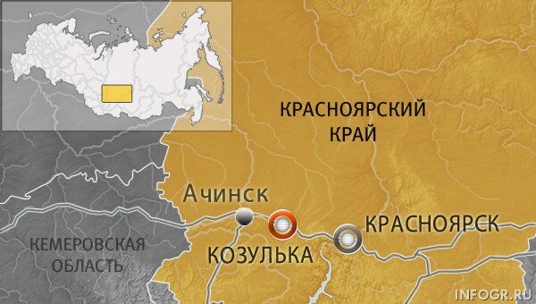Город Козулька Красноярского края