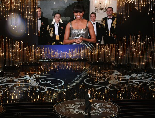 Номинацию «Лучший фильм года» представила первая леди США Мишель Обама