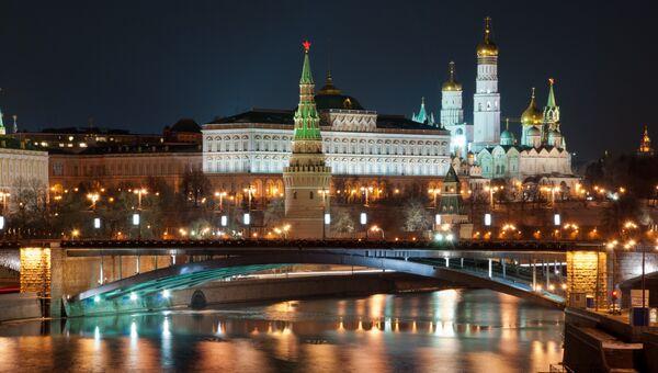 Вид на центр Москвы, архивное фото