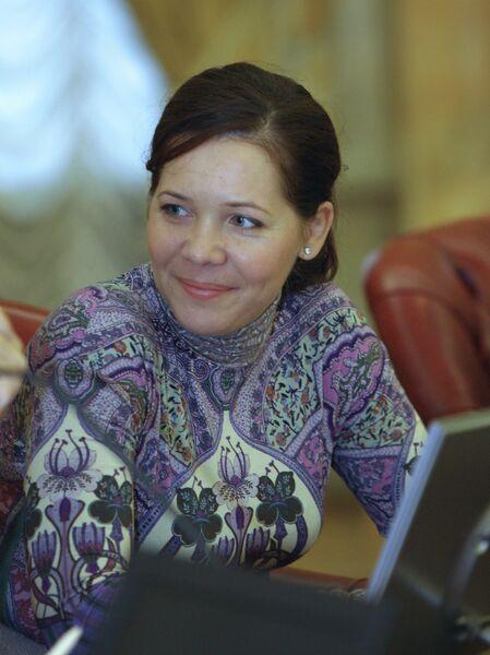 Глава аппарата правительства Москвы Анастасия Ракова