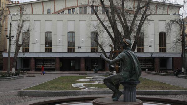 Здание театра имени Моссовета, архивное фото