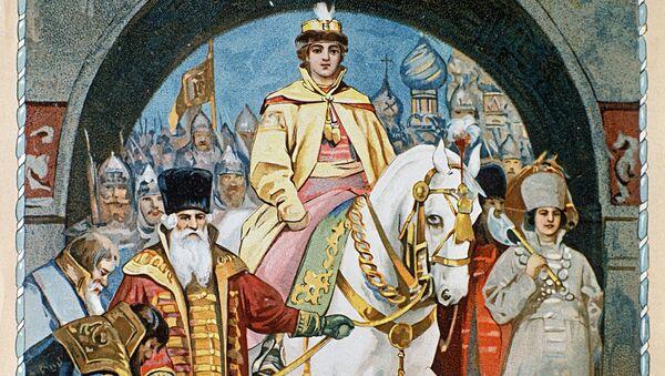 Въезд царя Михаила Федоровича в Москву 2 мая 1613 года