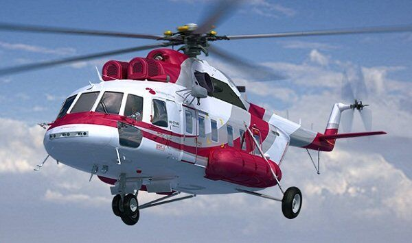 Обновленная модель вертолета Ми-171. Архивное фото