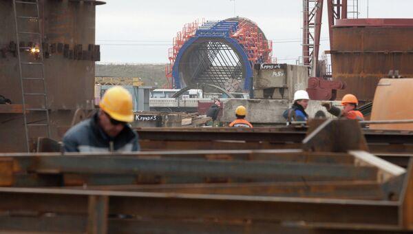 Строительство Загорской ГАЭС-2 в Московской области, архивное фото