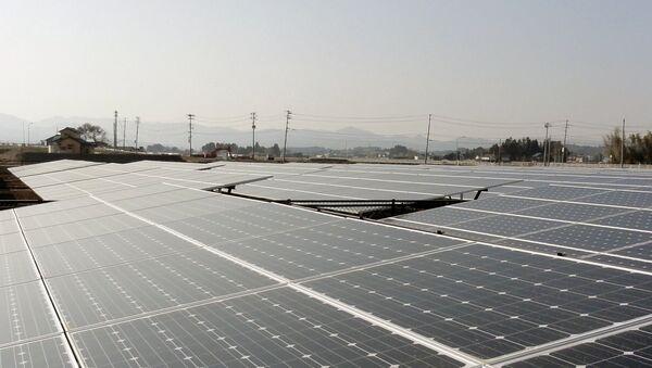 Электростанция на солнечных батареях