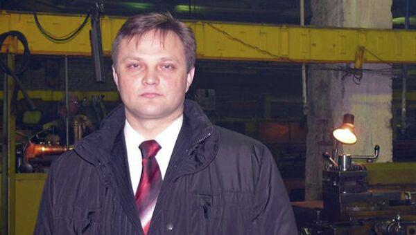 Генеральный директор мебельного предприятия Александр Плюснин