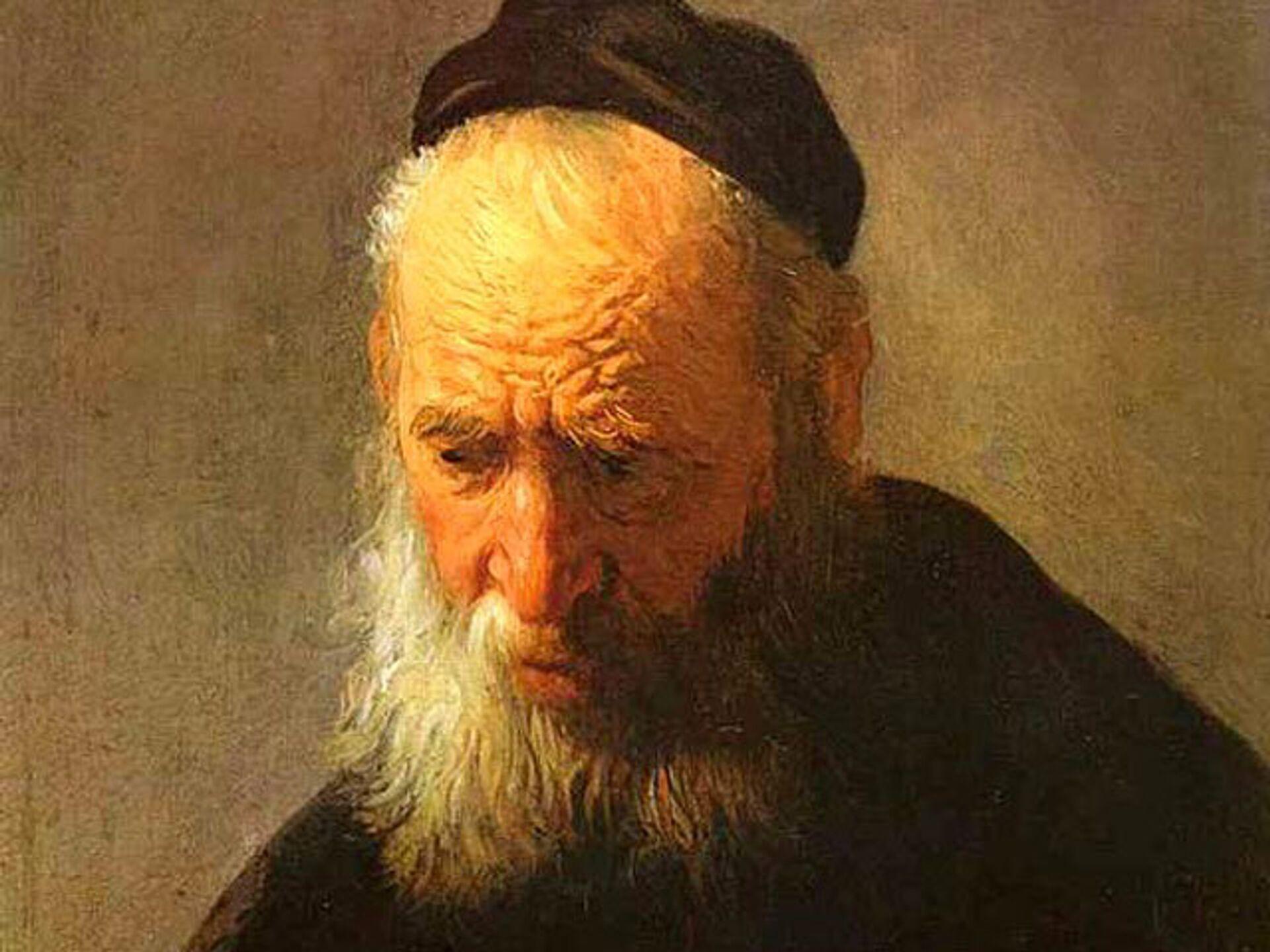 Картина Рембрандта Портрет отца - РИА Новости, 1920, 06.12.2020