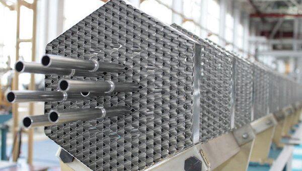 Установка для производства ТВЭЛов с плотным нитридным топливом на СХК. Архивное фото