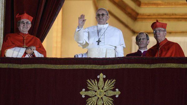 Аргентинский кардинал стал новым папой римским Франциском Первым