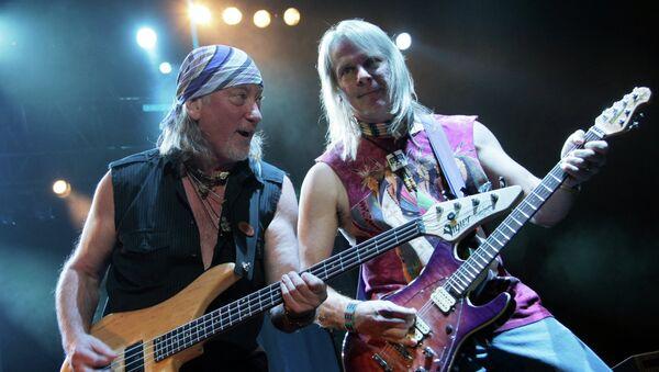 Концерт группы Deep Purple. Архивное фото