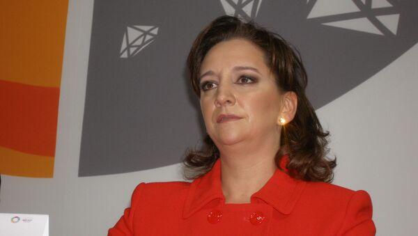 Министр иностранных дел Мексики Клаудия Руис Массиеу. Архивное фото