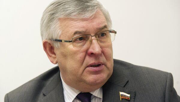 Председатель Комитета Государственной Думы по образованию Александр Дегтярев, архивное фото