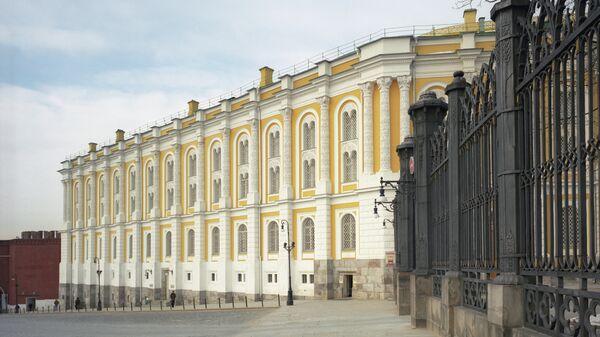 Оружейная палата в Московском Кремле. Архивное фото
