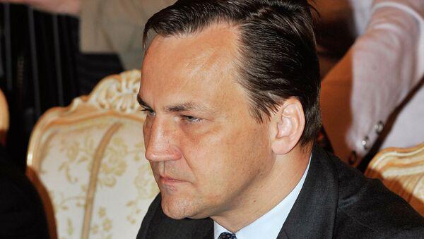 Министр иностранных дел Польши Радослав Сикорский. Архив