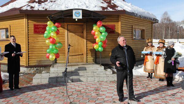 Открытие музея Николая Улагашева в Горном Алтае