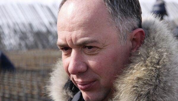Бывший глава Дальспецстроя Юрий Хризман. Архивное фото