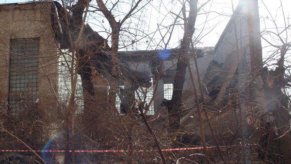 Секция спортзала забайкальского погрануправления рухнула в Чите