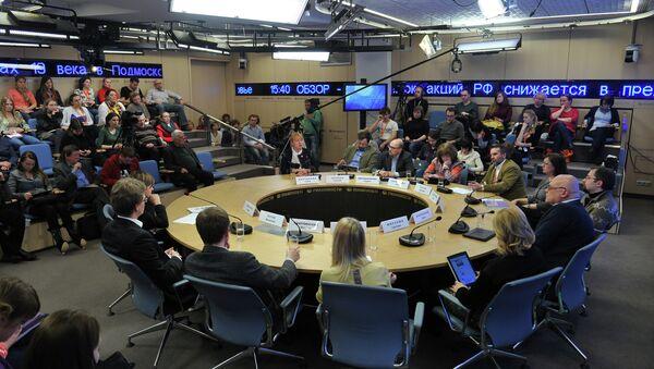 Круглый стол, посвященный развитию медиаотрасли России