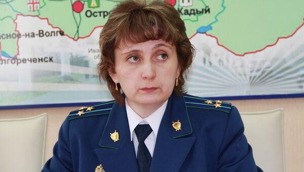 Старший помощник прокурора Костромской области Марианна Родышевцева