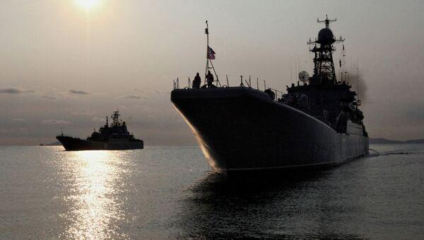 Большие десантные корабли ВМФ РФ. Архив