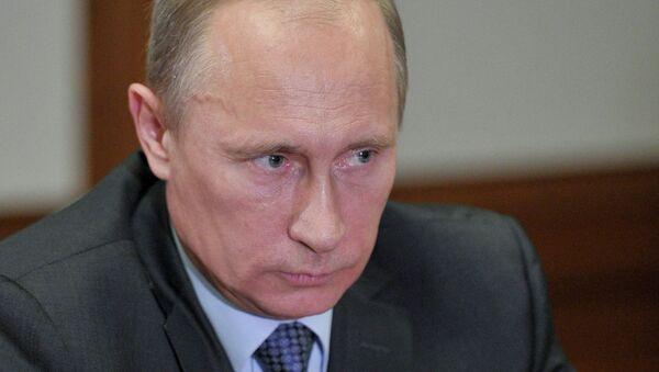 Встреча президента РФ В.Путина с Е.Куйвашевым в Сочи. Архив